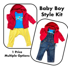 Load image into Gallery viewer, Baby Boy Style Kit (3-6mo)