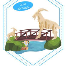 Load image into Gallery viewer, Hands Craft 3D Wooden Puzzle - Goat