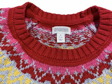 Load image into Gallery viewer, Gymboree Rainbow Fairisle Sweater (sz 5/6)