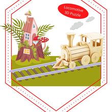 Load image into Gallery viewer, Hands Craft 3D Wooden Puzzle - Train