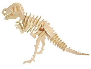 Hands Craft 3D Wooden Puzzle - T-Rex Dino