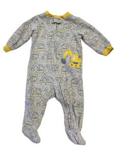 Carter's Construction Footed Pj's (6mo)