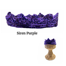 Load image into Gallery viewer, Costume Crochet Crowns (Adult)