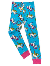 Load image into Gallery viewer, NewJammies Organic Cotton Unicorn Pj's