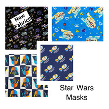 Load image into Gallery viewer, Cloth Face Mask-Star Wars