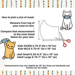 Cloth Face Mask- Fox