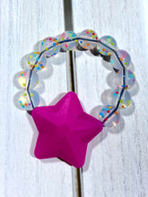 Load image into Gallery viewer, Teether Grabber Bracelet- Stars