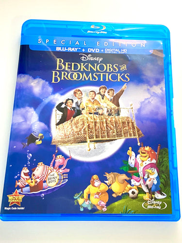 Disney Bedknobs & Broomsticks DVD