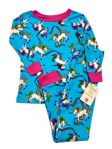 NewJammies Organic Cotton Unicorn Pj's