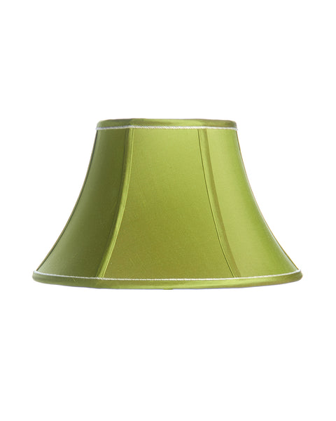 Acid Green Piped Bell Lampshade