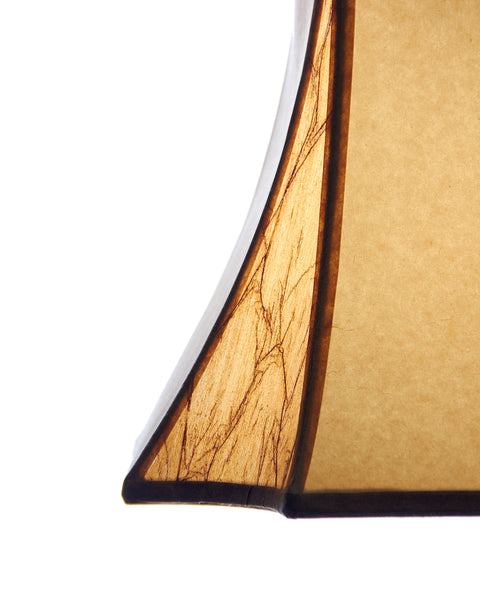 Crowned Inverted Square Parchment Paneled