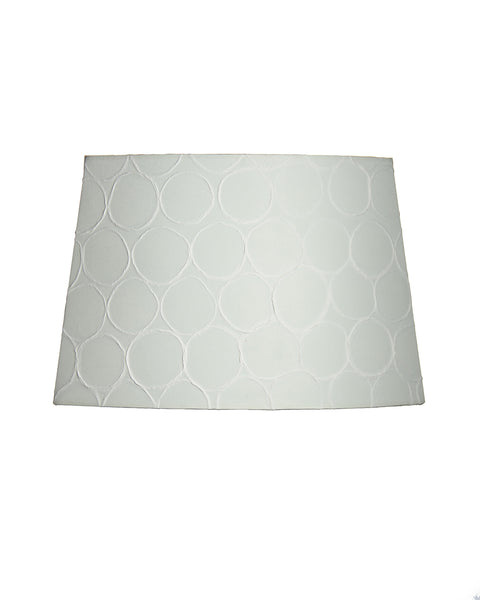 Cut Oval Sheer Beehive Paper Lampshade