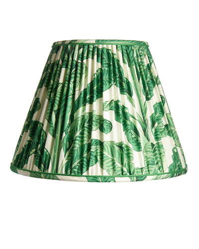 Empire Pleated Clarence House Palm Leaf Lampshade