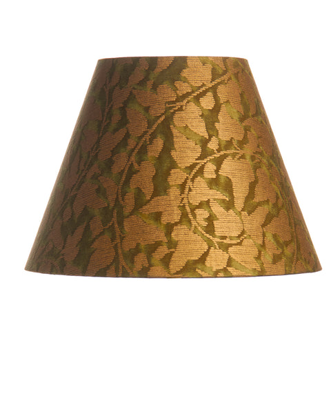 Empire Fortuny Gold and Green Print