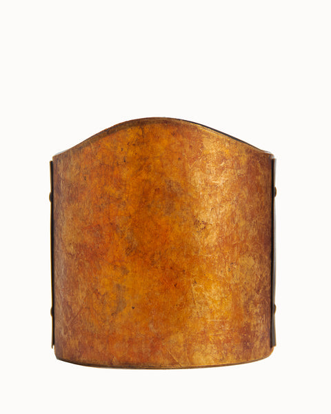 Mini Sconce Shield Amber Mica