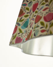 Illume's Paris Oval Shape with Italian Floral Art Paper
