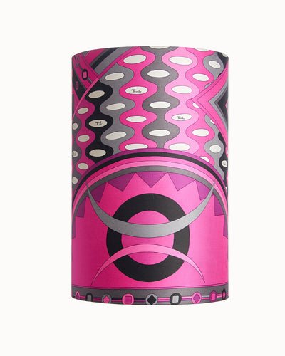 Pair Pucci Lampshades made from Scarf - Vintage Textile