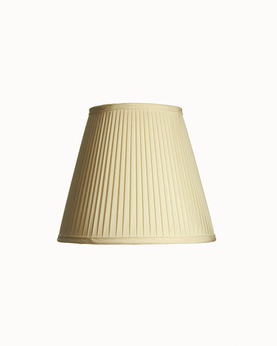 Deep Empire Knife Pleat Lampshade