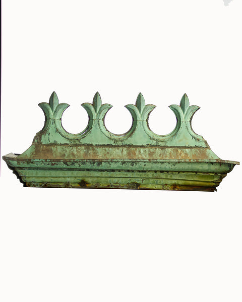 Architectural Copper Ridge Crest Finial