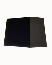 The Bond - Sharp Corner Rectangle Black Lampshade