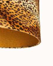 Cheetah Drum Lampshade