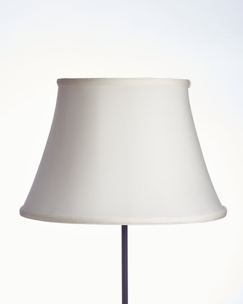Regent Empire Stretched White Linen Lampshade
