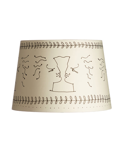 Cocteau Inspired Lampshade by NYC Artist