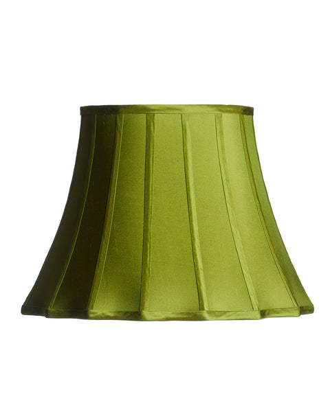 Verde Stretched Inverted Scallop Gypsy Bell Lampshade