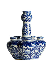 Blue and White Porcelain Tulipiere