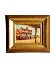 Original Oil Painting The Imperial Hotel Ravenswood
