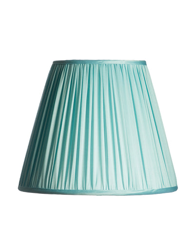 Tall Empire Tiffany Blue Shirred Pleat