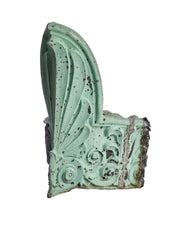 Architectural Copper Acanthus Leaf Corner