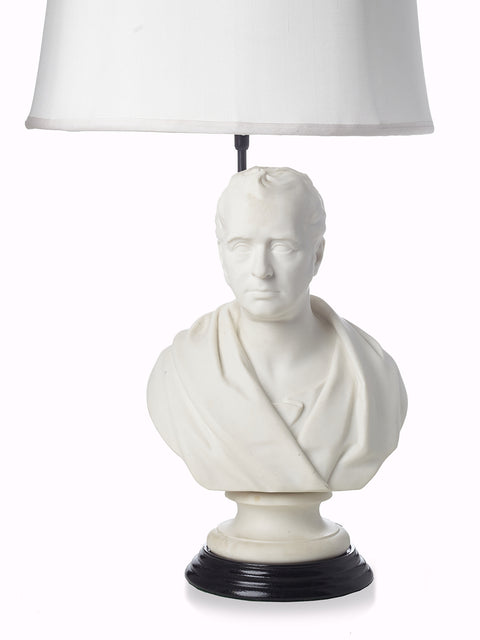 Wedgwood Parian Bust Lamp English CIRCA 1850