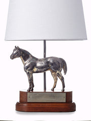 Silver Horse Lamp Osage County 1950