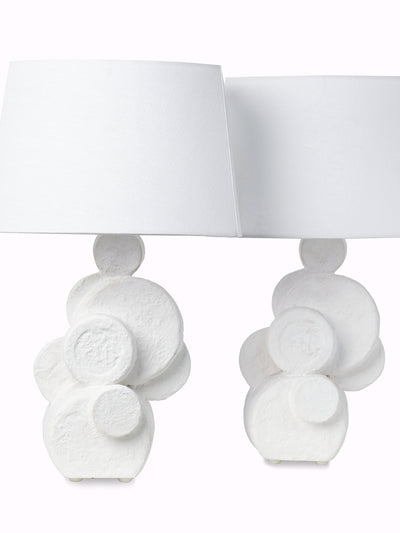 Pair of Plaster Table Lamps