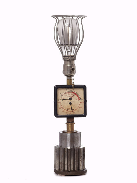 Custom Creation- Luca Meter Lamp