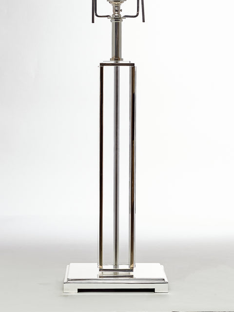 Crystal Column Table Lamp