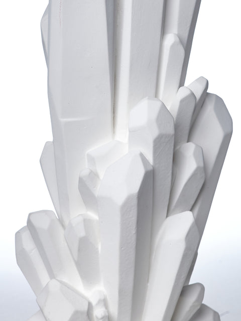 Plaster Sculptural Table Lamp
