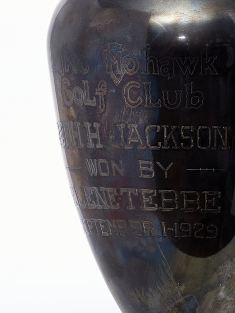 1929 Trophy Lamp Lake Mohawk Golf Club
