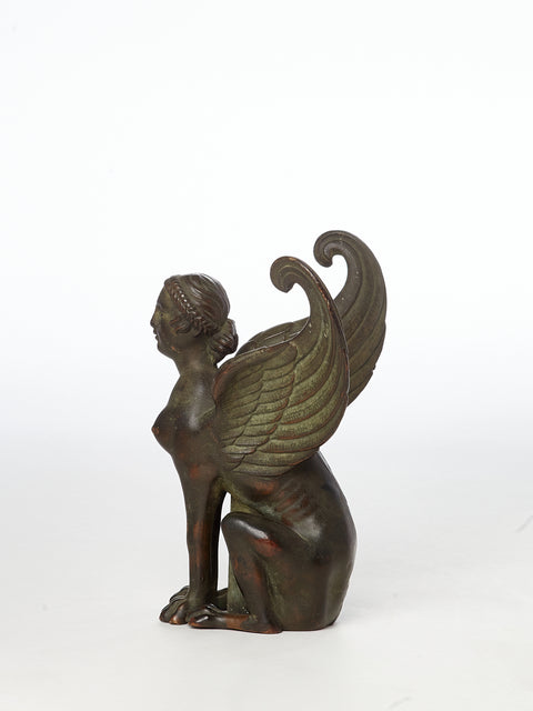 Grand Tour Sphinx Candlestick