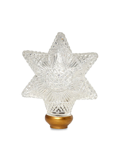 Cut Crystal Star Newel Post