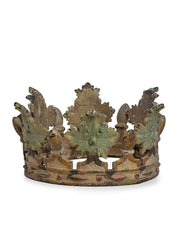 Antique Relic Metal Crown Religious Theatrical