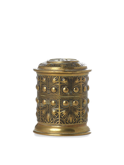 English Brass String Box