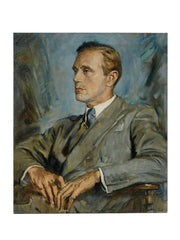 Oil Portrait Painting of Leslie Howard