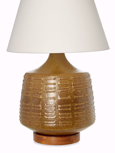 Gourd Table Lamp Attributed to late California artist David Cressey