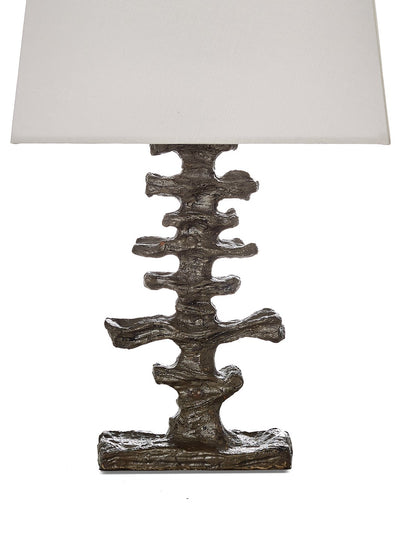 Bronze Brutalist Table Lamp