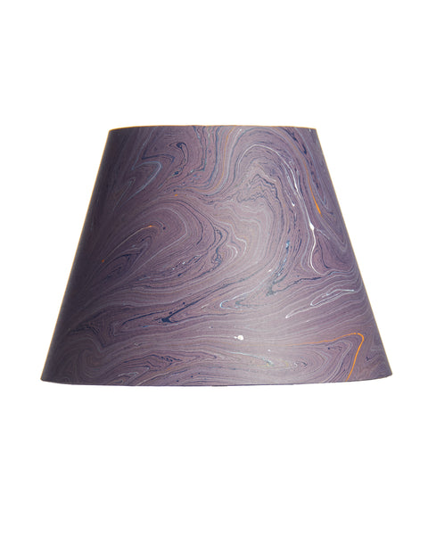 Empire Jute Fiber Paper Dark Purple Marble Lampshade