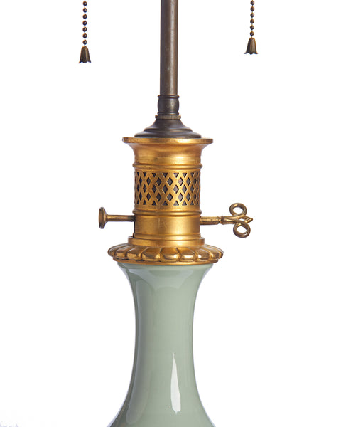 Lamp Light Celadon Green Empire