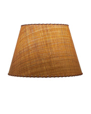 Empire Madagascar Raffia with Whipstitched Lampshade