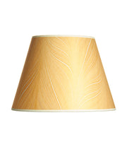 Empire Marbled Indian Copper Rag Paper Gold Lampshade